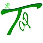 Tap Dance Handwritten Green
