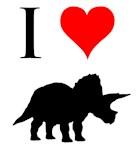 I Love Dinosaurs - Triceratops