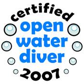 Open Water Diver 2007