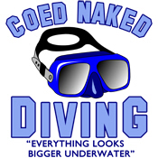 Coed Naked Diving