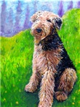 Airedale, dog breeds, Framed Art Prints