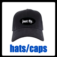FLIGHT ATTENDANT/PILOT BLACK CAPS