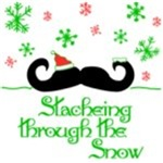 Stacheing Through the Snow