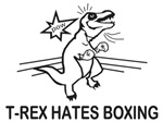 T Rex Hates Boxing