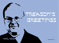 Treason's Greetings (Hanukkah Blue)