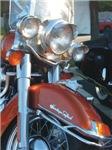 H3136 Motorcycle Watercolor