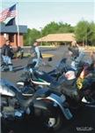 3-H3153 Motorcycle Watercolor