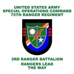3rd Ranger Battalion Flash