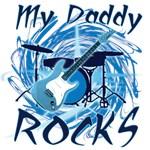 Dad Rocks Blue