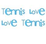 Love Tennis Mugs | Blue