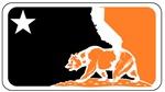 Major League Californian Bear Orange