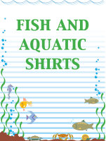 Fish and Aquatic Shirts