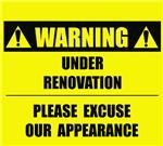 WARNING: Under Renovation