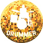 Disco Ball Drummer