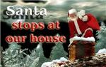 Santa Stops at our house