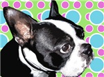 Retro Boston Terrier Prints