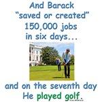 Golfing Obama
