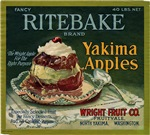 Ritebake Yakima Apples