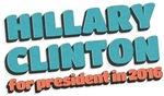 Bubbletext Hillary for President