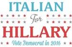 Italian for Hillary