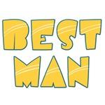 Retro Striped Best Man