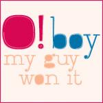 O! Boy. My Guy Won It (Watercolor)