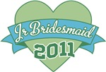 Heart Banner 2011 Junior Bridesmaid