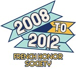 2008 to 2012 French Honor Society