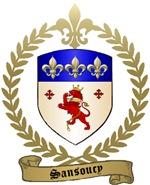 SANSOUCY Family Crest
