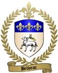 BELIVEAU Family Crest