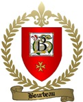 BOURBEAU Family Crest