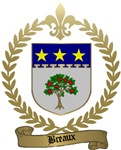 BREAUX Family Crest