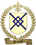 BRUNEAU Family Crest