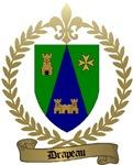 DRAPEAU Family Crest