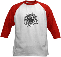 Woodcut Roses Kids' Clothing