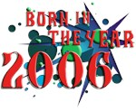 born in the year...