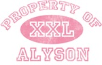 Property of Alyson
