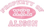 Property of Alison
