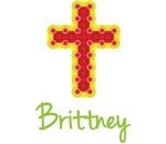 Brittney Bubble Cross