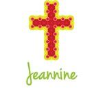 Jeannine Bubble Cross