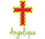 Angelique Bubble Cross
