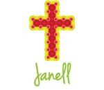 Janell Bubble Cross