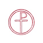 Pretty red christian cross 2 L b