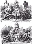 Double Image:<br> Talking Queens / Sleepy Queens