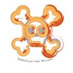 Jolly Roger - orange