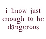 I Know Just Enough To Be Dangerous