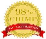 98% Chimp Naturally Selected