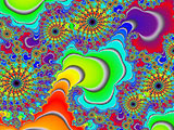 Rainbow Fractal Gift Shop Gallery