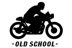 Old School Cafe Racer t-shirt