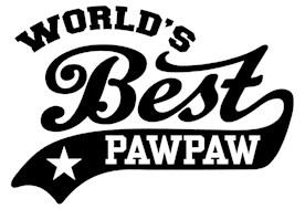 World's Best PawPaw t-shirts